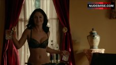 Alex Mauriello Sexuality in Black Lingerie – The Vampire Diaries