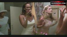 6. Tyra Banks Erect Nipples – Love Stinks
