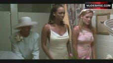 7. Tyra Banks Erect Nipples – Love Stinks
