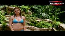 Jessica Biel in Blue Bikini – Stealth