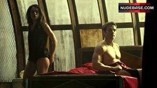 Tatiana Maslany Flashes Ass – Orphan Black