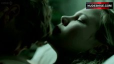 5. Adelaide Clemens Nude Boobs with Hard Pokies – Parade'S End