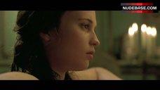 10. Alicia Vikander Nipple Slip – A Royal Affair