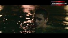 8. Alicia Vikander Topless Scene – Son Of A Gun