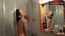 5. Yvonne Catterfeld Shows Tits in Shower – Schatten Der Gerechtigkeit