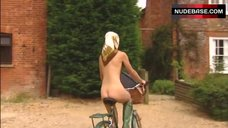 Sarah Alexander Full Nude Riding Bicycle – The Armstrong And Miller Show