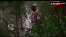Adrienne Barbeau Nude in Lake – Swamp Thing
