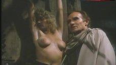 2. Lana Clarkson Topless Scene – Barbarian Queen Ii