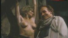 4. Lana Clarkson Topless Scene – Barbarian Queen Ii