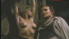 5. Lana Clarkson Topless Scene – Barbarian Queen Ii