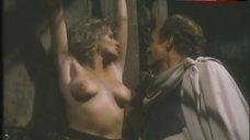 6. Lana Clarkson Topless Scene – Barbarian Queen Ii