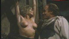 7. Lana Clarkson Topless Scene – Barbarian Queen Ii