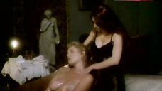 6. Lana Clarkson Naked in Buth Tub The Haunting Of Morella