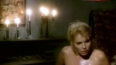 8. Lana Clarkson Naked in Buth Tub The Haunting Of Morella