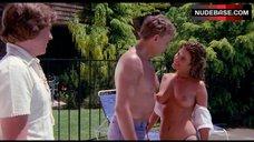 Jewel Shepard Topless near Pool – Mission: Killfast