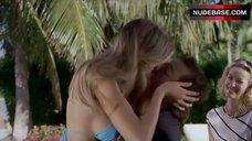 Vanessa Hessler Sexy in Blue Bikini – Natale A Miami