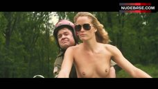 Jill De Jong Topless Scene – Nature Calls