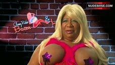 Luenell Boobs with Nipple Path – That'S My Boy