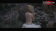 2. Brigitte Bardot Covers Nude Breasts – Shalako