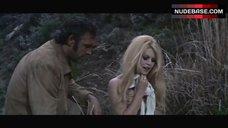 5. Brigitte Bardot Covers Nude Breasts – Shalako