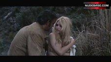 8. Brigitte Bardot Covers Nude Breasts – Shalako