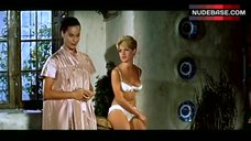 Brigitte Bardot in Lingerie – The Night Heaven Fell