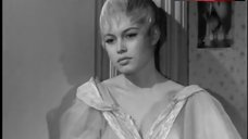 Brigitte Bardot Sexy in See-Through Dress – Plucking The Daisy