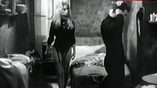 Brigitte Bardot Legs in Stockings – En Cas De Malheur