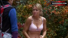 Megyn Price in Lingerie Outdoor – Rules Of Engagement