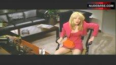 7. Ellen Bark Upskirt in Office – Switch