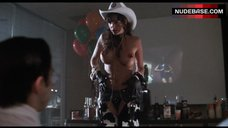 Julie Strin Hot Striptease on Party – Psycho Cop Returns