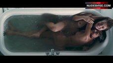 Elena Anaya Lesbian Play in Bathtub – Room In Rome