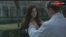 10. Emilia Fox Shows Nipple – The Soul Keeper