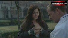 3. Emilia Fox Shows Nipple – The Soul Keeper