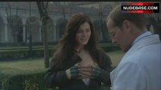 5. Emilia Fox Shows Nipple – The Soul Keeper