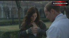 6. Emilia Fox Shows Nipple – The Soul Keeper