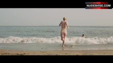 Dakota Fanning Nude on Public Beach – Very Good Girls