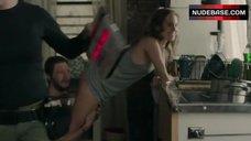 1. Allison Williams Ass Scene – Girls
