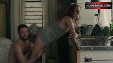 2. Allison Williams Ass Scene – Girls