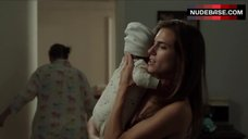 9. Allison Williams in Sexy Lingerie – Girls
