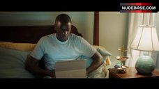 10. Allison Williams in Black Panties – Get Out