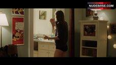 3. Allison Williams in Black Panties – Get Out