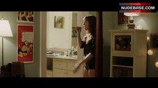 8. Allison Williams in Black Panties – Get Out