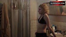 2. Allison Williams after Shower – Girls