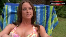 Leslea Fisher Sunbathing in Bikini – Surface