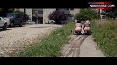 June Diane Raphael Pissing on Street – Ass Backwards