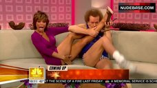 Lisa Rinna Upskirt – Today