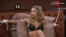 Izabella Miko Bound in Lingerie – Anger Management