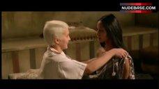 1. Laura Gemser Bare Breasts in Lesbian Scene – Black Emmanuelle, White Emmanuelle