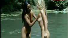1. Laura Gemser Nude Lesbian Scene – Emanuelle And The Last Cannibals